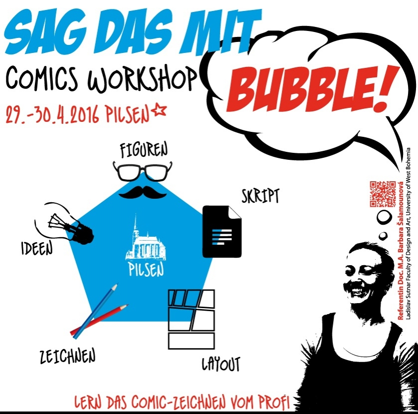 Comics Workshop - Sag das mit Bubble!